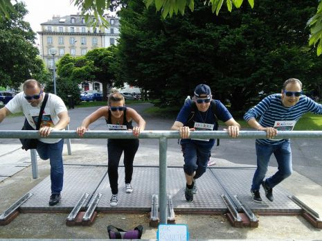 Rallye GPS et team building à Genève