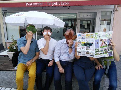 Rallye Gourmand à Evian pour Givaudan !