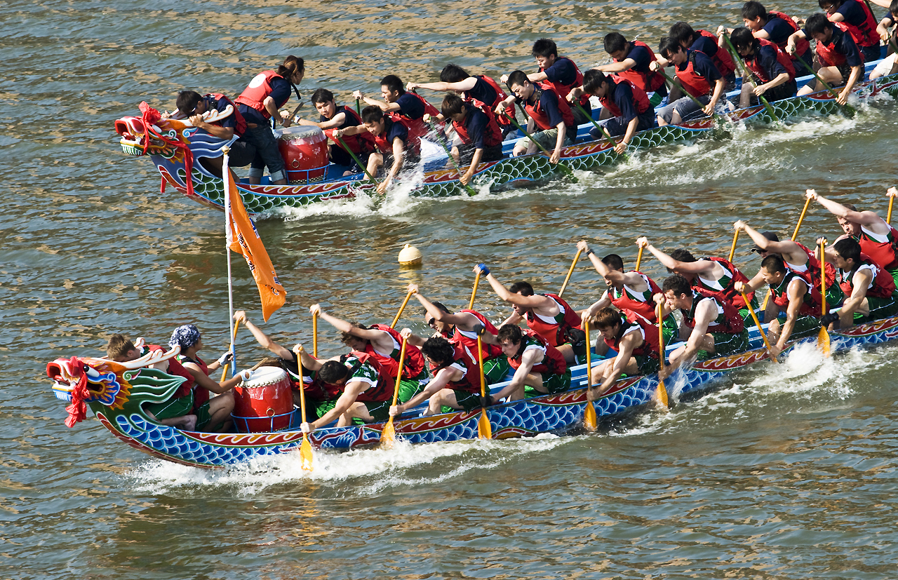 Dragon boat race - Ormskirk District Scouts